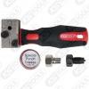 Bremsleitungs-Bördelgerät universal 4 teilig KS Tools 122.1215